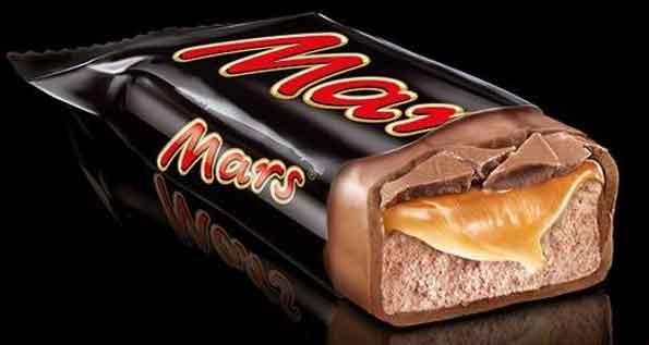 شکلات بار کره ای مارس