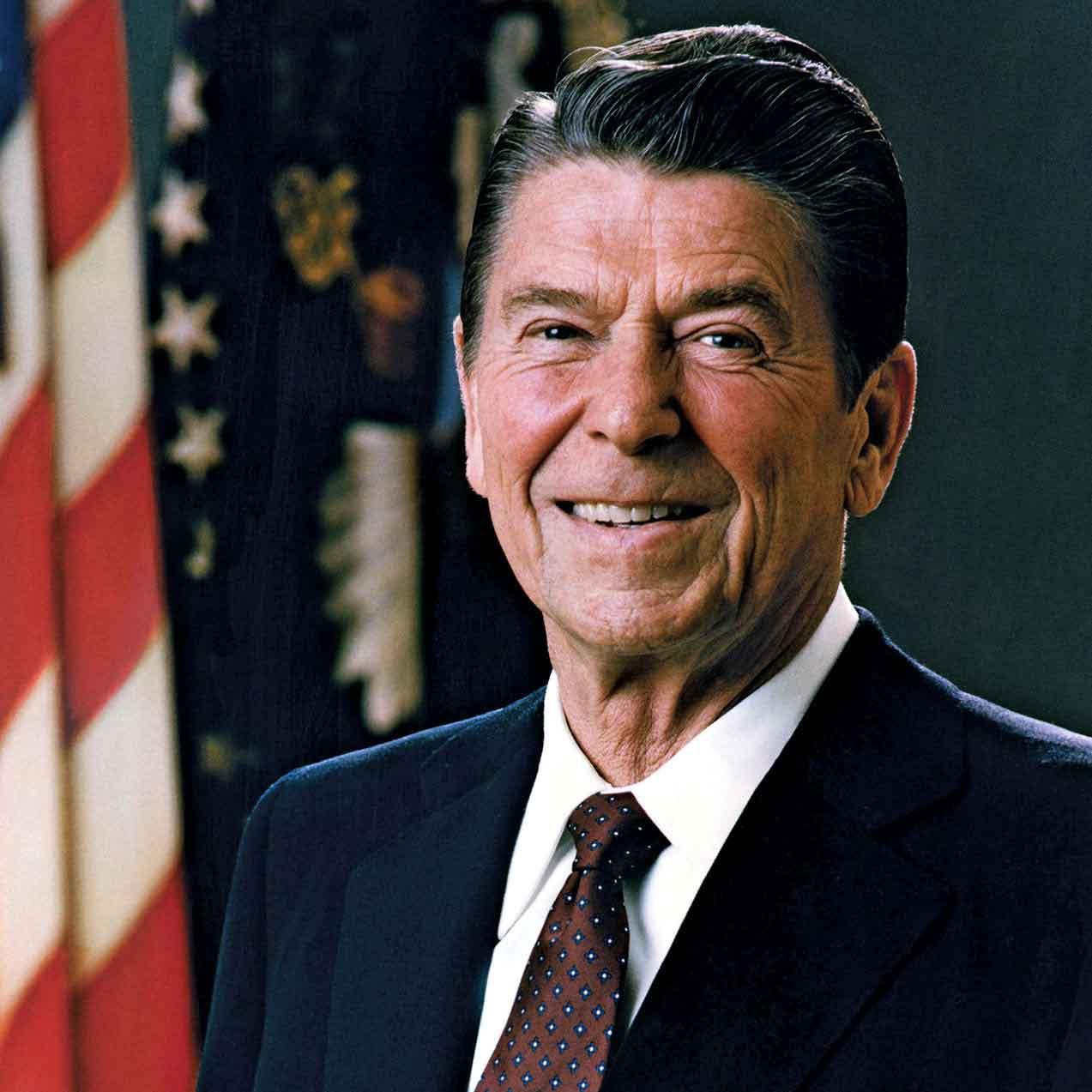 رئیس جمهور سابق آمریکا ریگان