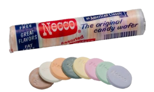آبنبات Necco Wafers Candy